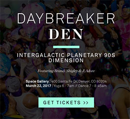 Daybreaker Denver tickets
