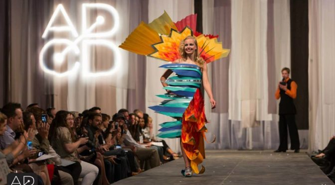 Paper Fashion Show Judge: Brandi Shigley