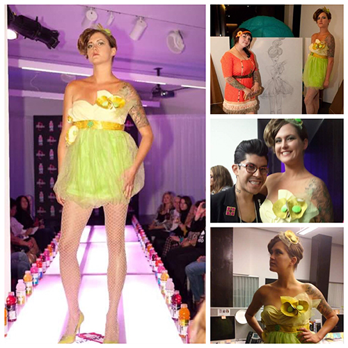 Idlewild Designs at Vitamin Water fashion competition