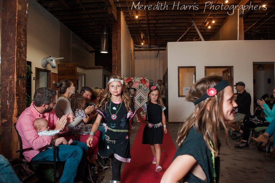 Meredith Harris captures the red carpet moment