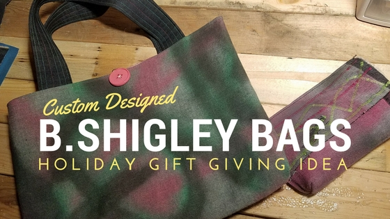 B.Shigley Custom Bags available for the holidays!